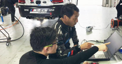 本日もBMW M2CS racingのレンタルレッスン