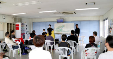 7月22日(祝)砂子塾TC1000 サーキット実践トレーニング!!タイムテーブル